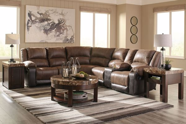 Picture of Nantahala - Coffee 6PC Sectional