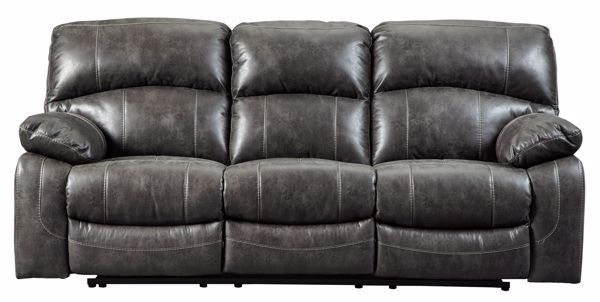 Picture of Dunwell - Steel Power Reclining Sofa