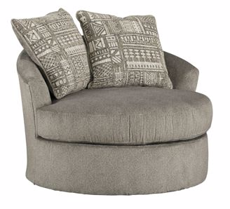 Soletren Ash Swivel Chair Kimbrell S Furniture