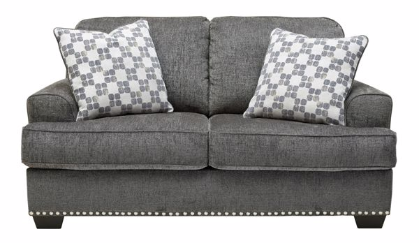 Picture of Locklin - Carbon Loveseat