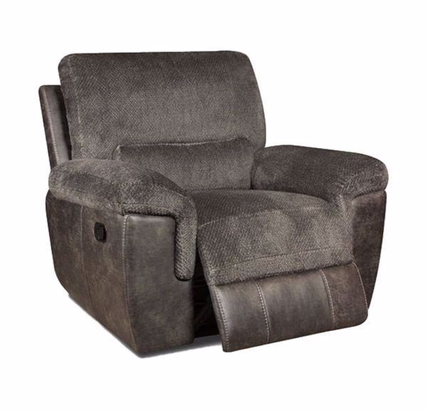 Picture of Monroe - Smoke Glider Recliner