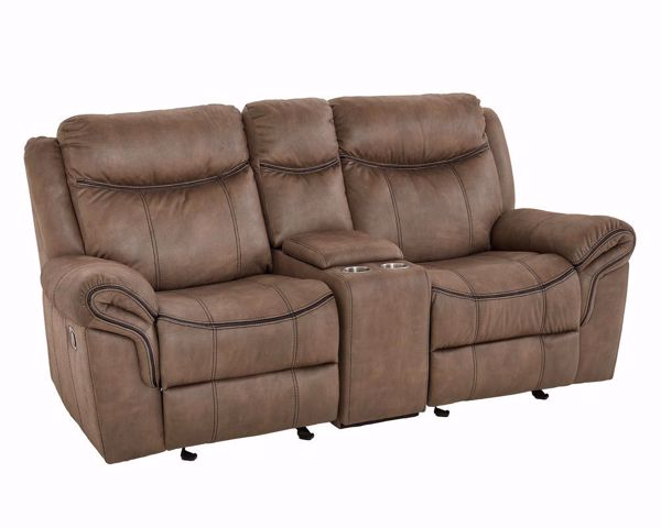 Picture of Knoxville - Dual Reclining Console Loveseat