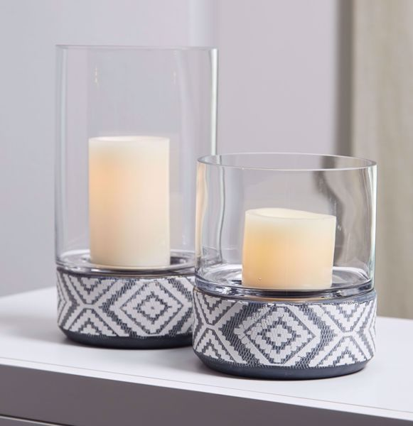 Picture of Dorntilla 2PC Candle Holder Set