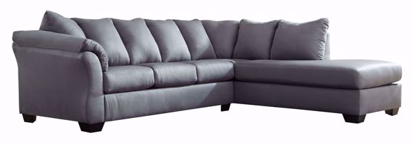 Picture of Darcy - Steel LAF 2PC Sectional