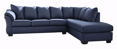 Picture of Darcy - Blue LAF 2PC Sectional