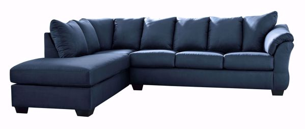 Picture of Darcy - Blue RAF 2PC Sectional