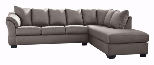Picture of Darcy - Cobblestone LAF 2PC Sectional