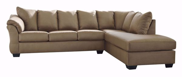 Picture of Darcy - Mocha LAF 2PC Sectional