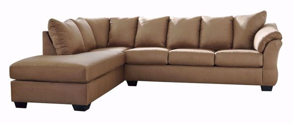 Picture of Darcy - Mocha RAF 2PC Sectional