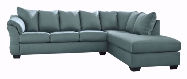 Picture of Darcy - Sky LAF 2PC Sectional