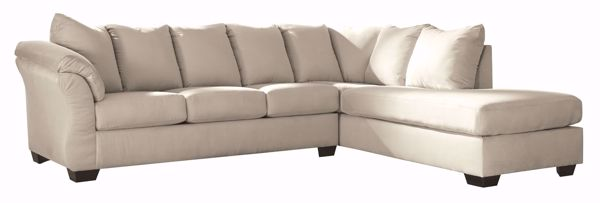 Picture of Darcy - Stone LAF 2PC Sectional