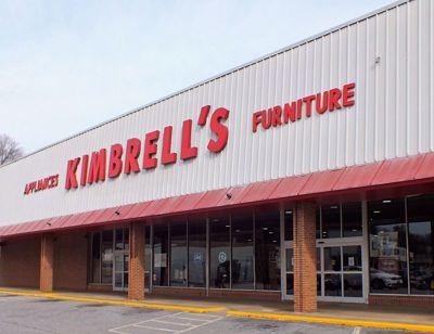 Entrance to Kimbrells in Lenoir, NC