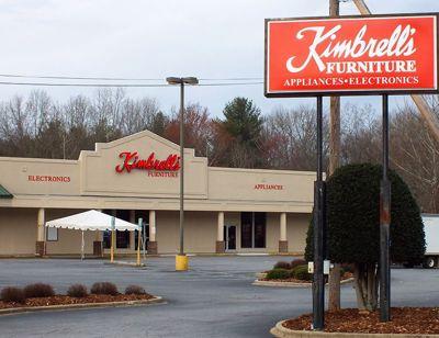 Entrance to Kimbrells in Morganton, NC