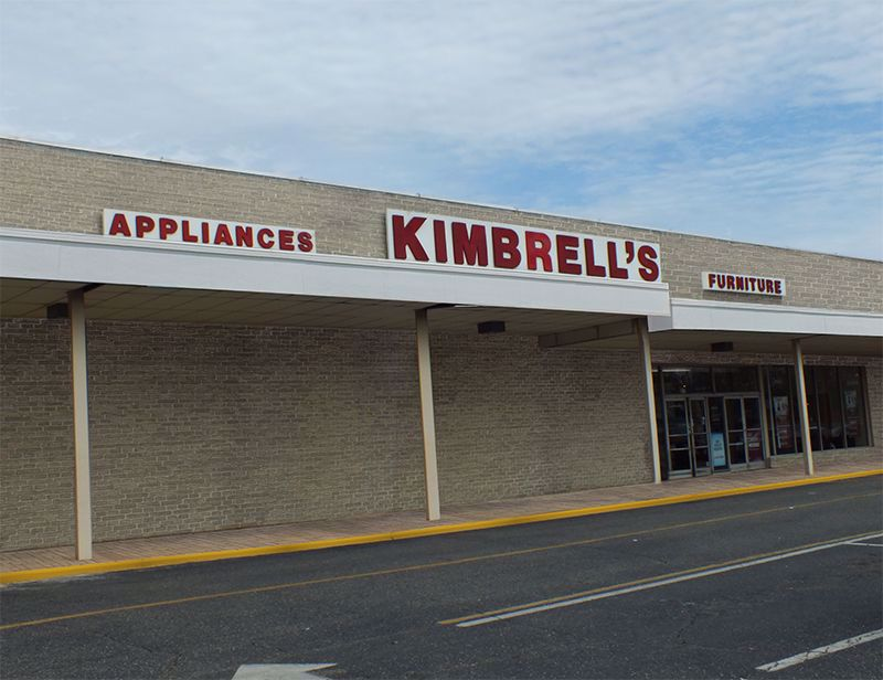 Entrance to Kimbrells in Shelby, NC