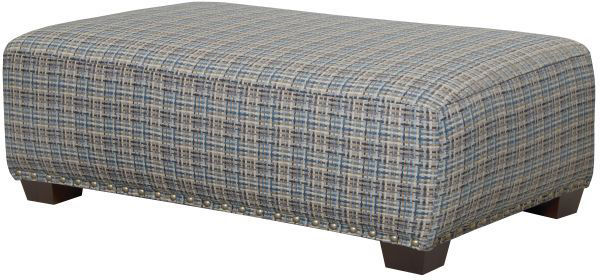 Picture of Newberg - Platinum Ottoman