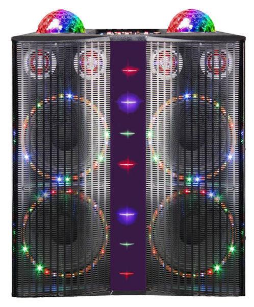 Picture of Cabinet Speaker & Amplifier