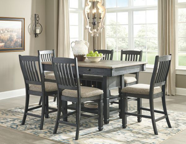 Picture of Tyler Creek - Pub Table W/ 6 Barstools