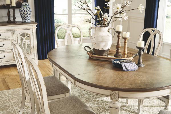 Picture of Realyn - Oval Table W/ 6 Chairs