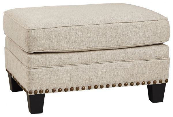 Picture of Claredon - Linen Ottoman
