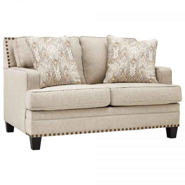 Picture of Claredon - Linen Loveseat