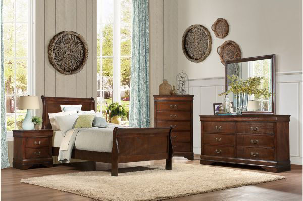 Picture of Mayville - Cherry Twin Bed