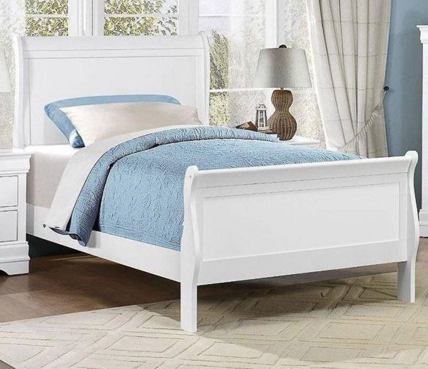 Picture of MAYVILLE WHITE TWIN BED
