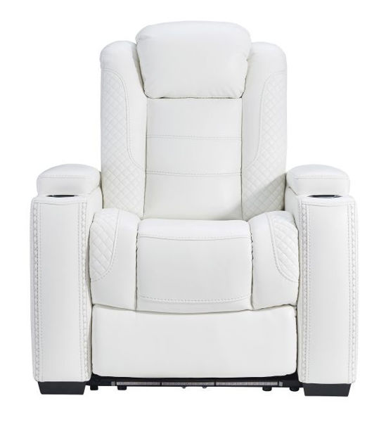 Picture of Party Time - White Power Recliner