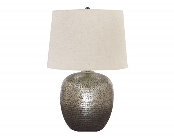 Picture of Magalie - Antique Silver Table Lamp