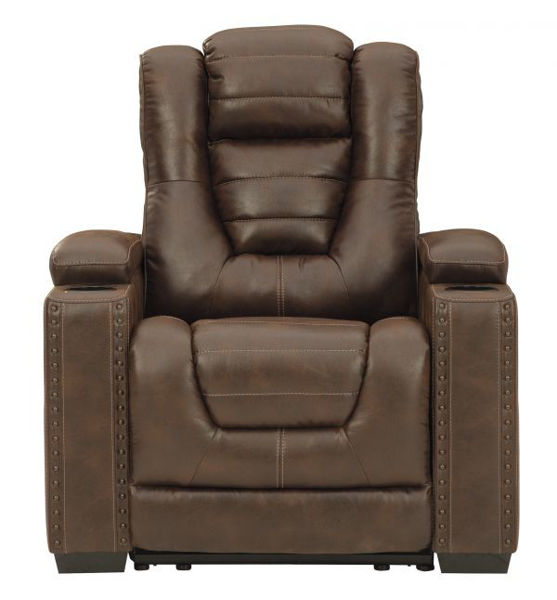 Picture of Owner's Box - Thyme Dual Power Recliner