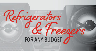 Refrigerator and freezers for any budget
