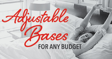 Adjustable bases for any budget