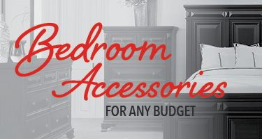 Bedroom accessories for any budget