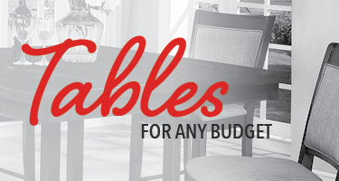 Dining tables for any budget