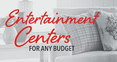 Entertainment centers for any budget