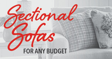 Sectional sofas for any budget