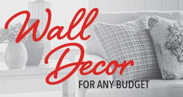 Living room wall decor for any budget